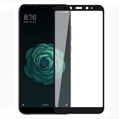 Tempered Glass Film for Xiaomi Mi 6X 9H Hardness Full HD Screen Protector stylish protective silicone back case for iphone 5c grey