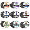 AKATTAK Vape Coil Kit Alien Clapton Prebuilt 9 Builds Heating Wire 80Pcs - SILVER