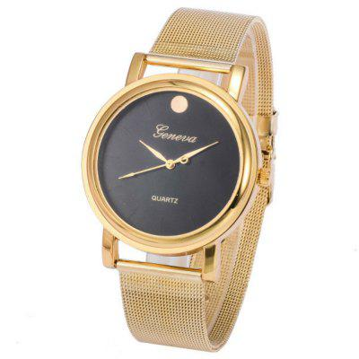 Brief Table Geneva Business Men and Women Quartz Watch