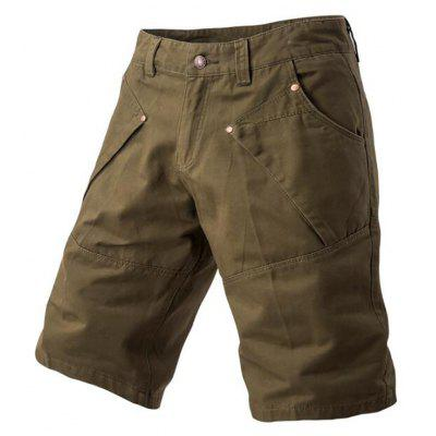 Men Loose Pants Casual Cargo Shorts