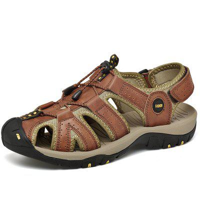Hommes Cow Outdoor Fashion Air Sandales