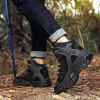 Men Mountain Climbing Boots - BLACK