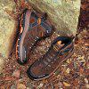 Men Mountain Climbing Boots - BROWN