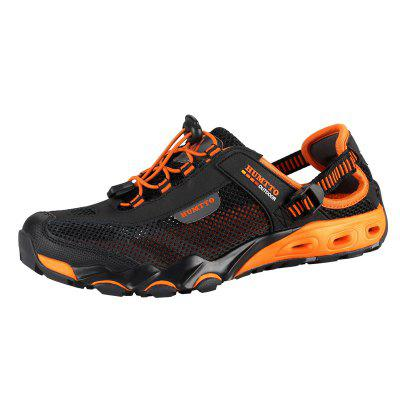 HUMTTO Men Outdoor Trekking Comfortable Shoes