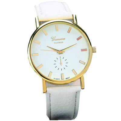 Zegarek na rękę Genewa Fashion Simple Quartz