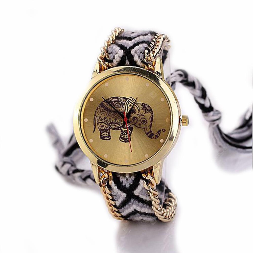 Handmade DIY Elephant Bracelet Watch
