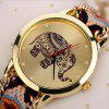 Handmade DIY Elephant Bracelet Watch - BRONZE