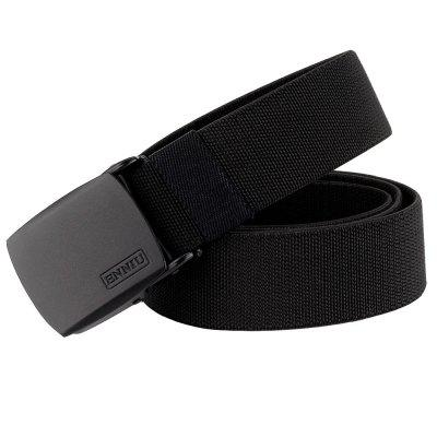 ENNIU Adjustable Multi-function Tactical Military Elastic Black Alloy Clasp Belt