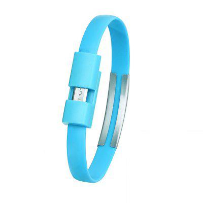 Cwxua Micro USB Data Charging Wrist Bracelet Style Cable