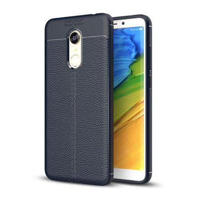 Litchi Skin Tpu Phone Case for Xiaomi Redmi 5 Plus