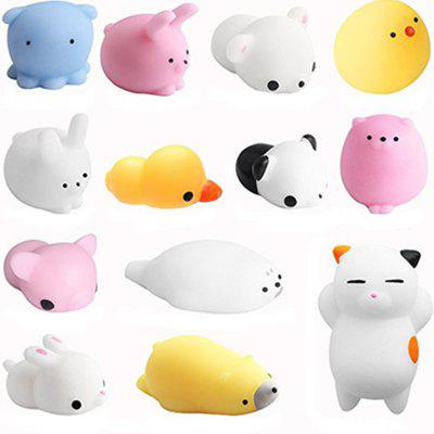 Relief Jumbo Squishy Animals Stres Toy 13PCS