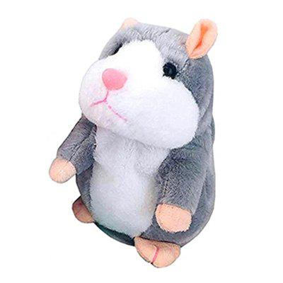 Talking Hamster Pet Plush Toy Repeat What You Say Educational Toy for Children 30cm plush toy stuffed toy high quality goofy dog goofy toy lovey cute doll gift for children free shipping