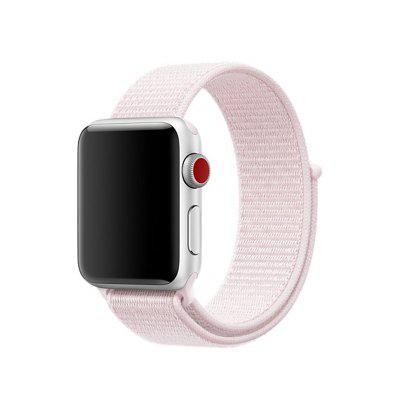 New Nylon Sport Loop with Hook Strap Replacment Band for Apple Watch 38MM