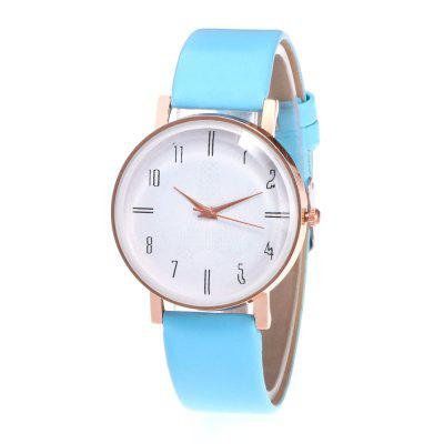 Fashion Minimalist Lady Casual Personalities Quartz Watch