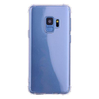 Case for Samsung S9 Ultra-Slim Shockproof Transparent Back Cover