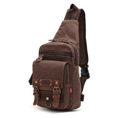 Cross Body Messenger Bag Shoulder Backpack Travel Rucksack Sling Bag