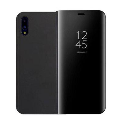 для Huawei P20 Case Luxury Flip Stand Clear View Smart Mirror Phone Cover