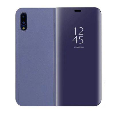 für Huawei P20 Fall Luxus Flip Stand Klare Sicht Smart Mirror Phone Cover