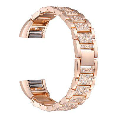 Luxury Crystal Stainless Watch Band Wrist Strap For Fitbit Charge 2 replacement luxury silicone watch band wrist strap for fitbit charge 2 bracelet 580287
