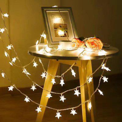 LED Star String Light for Indoor and  Outdoor Christmas Decorations