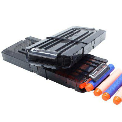 12 Quick Reload Clip System Darts for Toy Gun Nerf N-strike Blaster