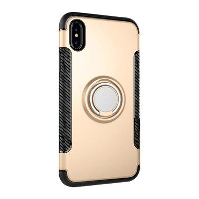 Creative Anti-drop Ring Protector Two-in-one for iPhoneX Silicone Armor Shell