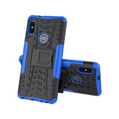 Tire Pattern Bracket Drop-Resistant Phone Case for Xiaomi Redmi Note5 Pro