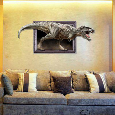 3D Dinosaur Personality Creativity Removable Wall Sticker facilitating increased creativity for adults