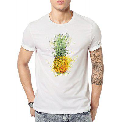 Summer Men's Large Short Sleeved Digital Printing T-Shirts