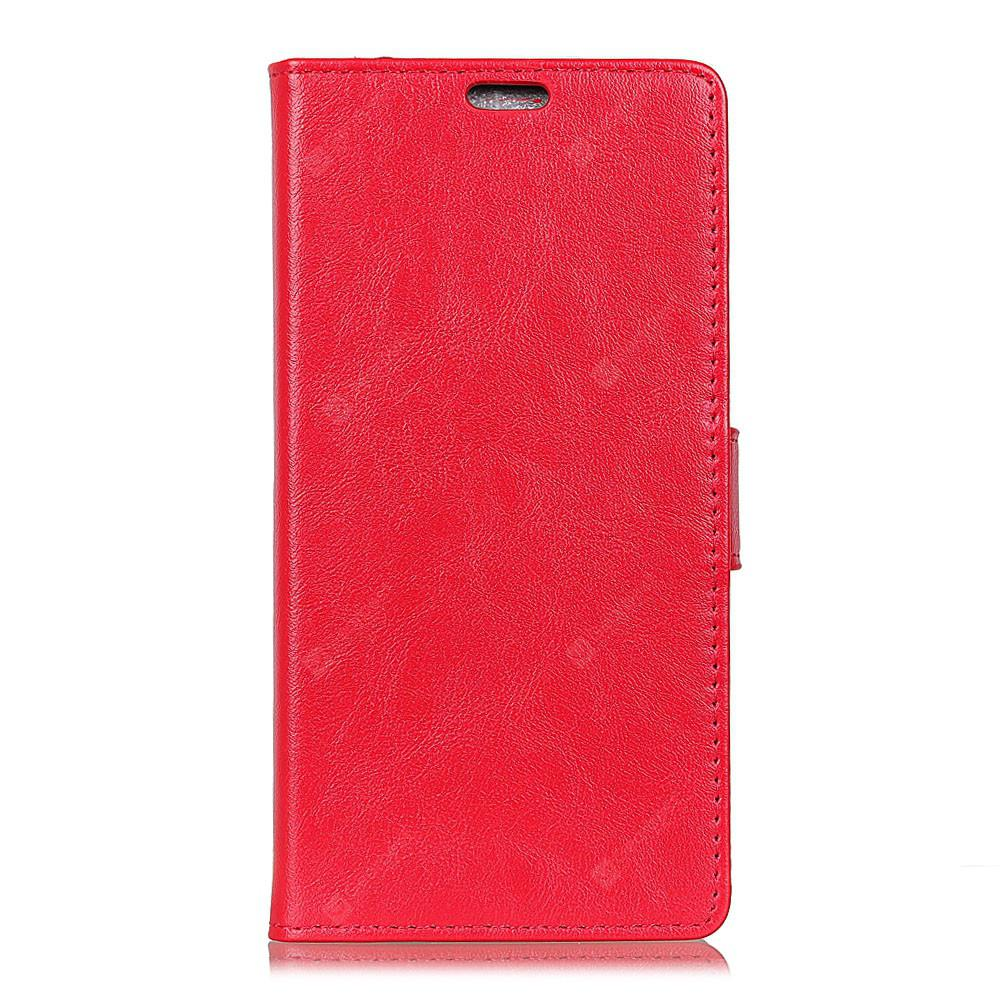 for One Plus 6 Wallet Case with Kickstand Feature Card Slots Crazy Ma Wen