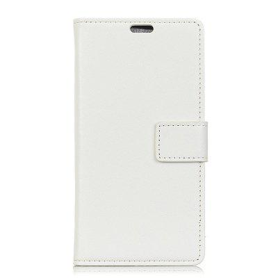for Alcatel 3V Wallet Case with Case Kickstand Feature Card Slots lc imeeke card slots leather coated tpu mirror kickstand shell cover for iphone 7 plus rose