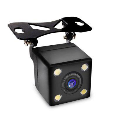 SpedCrd  4LED Waterproof Trajectory Car Rear View Camera