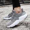 ZEACAVA Men Fashion Breathable Basketball Shoes Athletic Walking Sneakers - GRAY