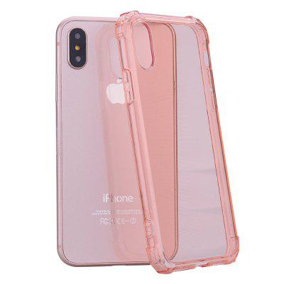 Cover Case for iPhone X 360 Drop Protective Clear TPU Gel remax wavy clear tpu gel cover for iphone 7 plus grey