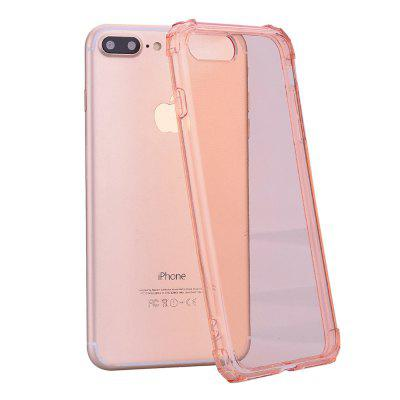 Cover Case for iPhone 7 Plus / 8 Plus 360 Drop Protective Clear TPU Gel remax wavy clear tpu gel cover for iphone 7 plus grey