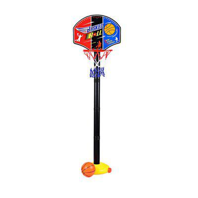Portable Kids Basketball Stand Set Basket Hoop Backboard Net Play Game Toy Sport 2016 new high quality mini kids indoor detachable and hanging shot basketball toys basquete ball net backboard set gift