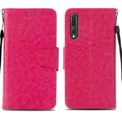 Wallet Leather Flip Cover Case for Huawei P20 Pro leather case for huawei p9 left and right flip cover