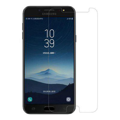2PCS Screen Protector for Samsung Galaxy C8 High Clear Premium Tempered Glass