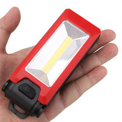 LED Work Light Magnetic Folding Hook Hanging Flashlight Non-slip Torch