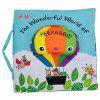 Baby Cloth Book Balloon Early Childhood Education Puzzle - MULTI-A
