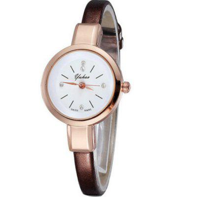 New Lady  Business Simple Small Dial Quartz Watch