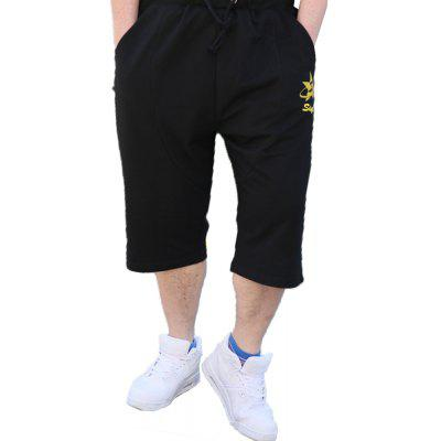 2018 Men's Big Code Fashion Trend Baggy Shorts
