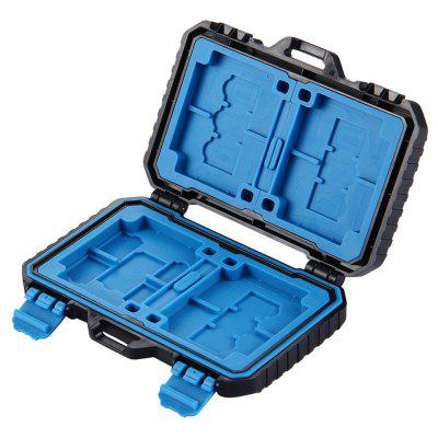 PULUZ Rezistent la apă Micro SD CF TF Holder Stocker Storage Box