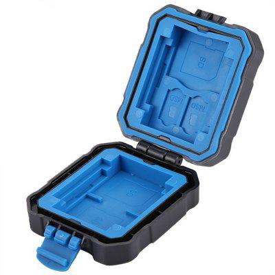 PULUZ Waterproof Micro SD TF TF Holder Stocker Storage Box Funda de tarjeta de memoria