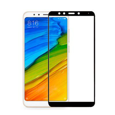 Full Cover Tempered Glass Screen Protector for Xiaomi Redmi 5 5.7 inch benks magic kr pro 0 15mm 3d curved tempered glass screen protector for iphone 6s plus 6 plus full cover white