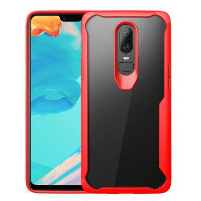 Full Protective TPU and Acrylic Transparent Case for OnePlus 6 tpu protective cover for apple watch 38mm transparent