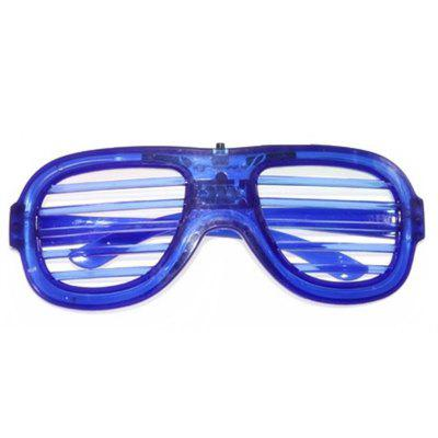LED Light Up Shades Show Toy Glasses Party 1szt