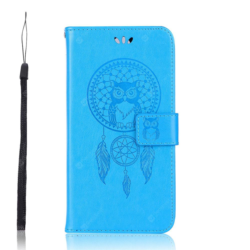Wind Bell Owl Flip PU Wallet Leather Cover For Asus Zenfone 5 Lite ZC600KL Case