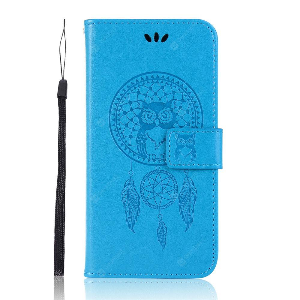 Owl Flip PU Wallet Leather Cover For Asus Zenfone Max 2018 M1 ZB555KL Phone Case