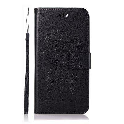 Wind Bell Owl Fashion Flip PU Wallet Leather Cover For OPPO R11 Phone Case